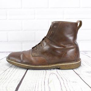 Clarks Original High Desert Brown Leather Boots 13